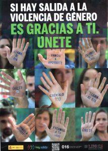 En la Residencia Ntra Sra. de Montesión nos solidarizamos con las víctimas de la violencia de género y manifestamos nuestro rechazo más absoluto a la violencia contra la mujer.